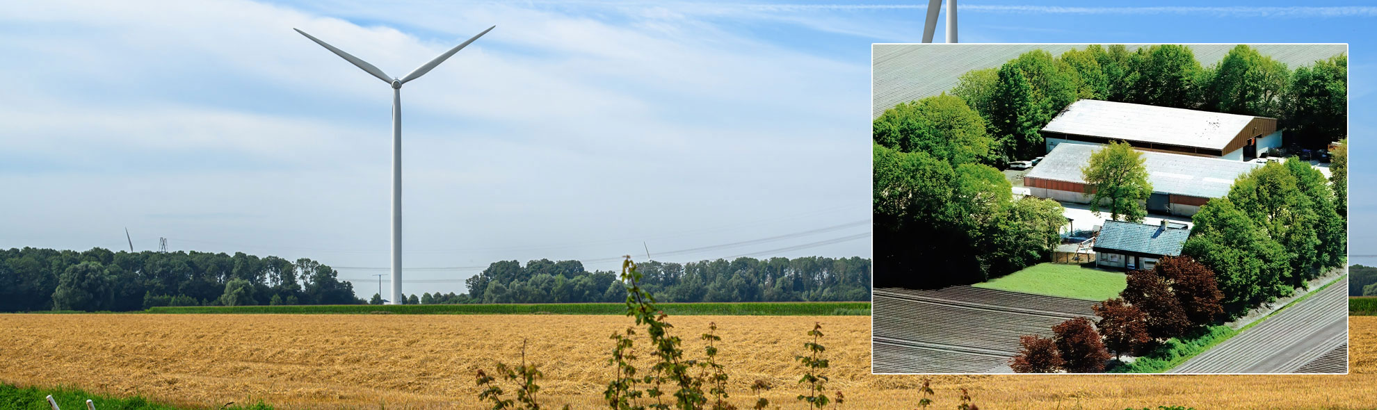 Agrarisch bedrijf T.J. Zomerman, een modern akkerbouwbedrijf in Swifterbant